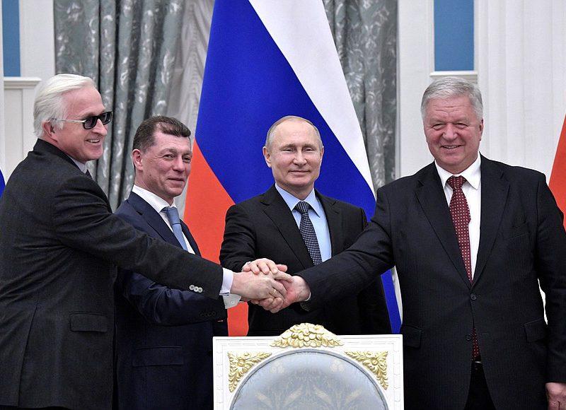 В Кремле подписали соглашение между профсоюзами, работодателями и правительством РФ на 2018-2020 годы