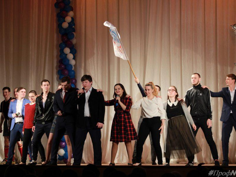 18 марта в ГГПИ прошёл концерт для избирателей «Пою тебе, моя Россия!»