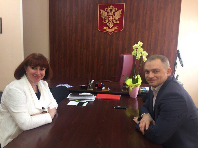 Встреча  с заместителем министра по физической культуре, спорту и молодежной политике Удмуртской Республики